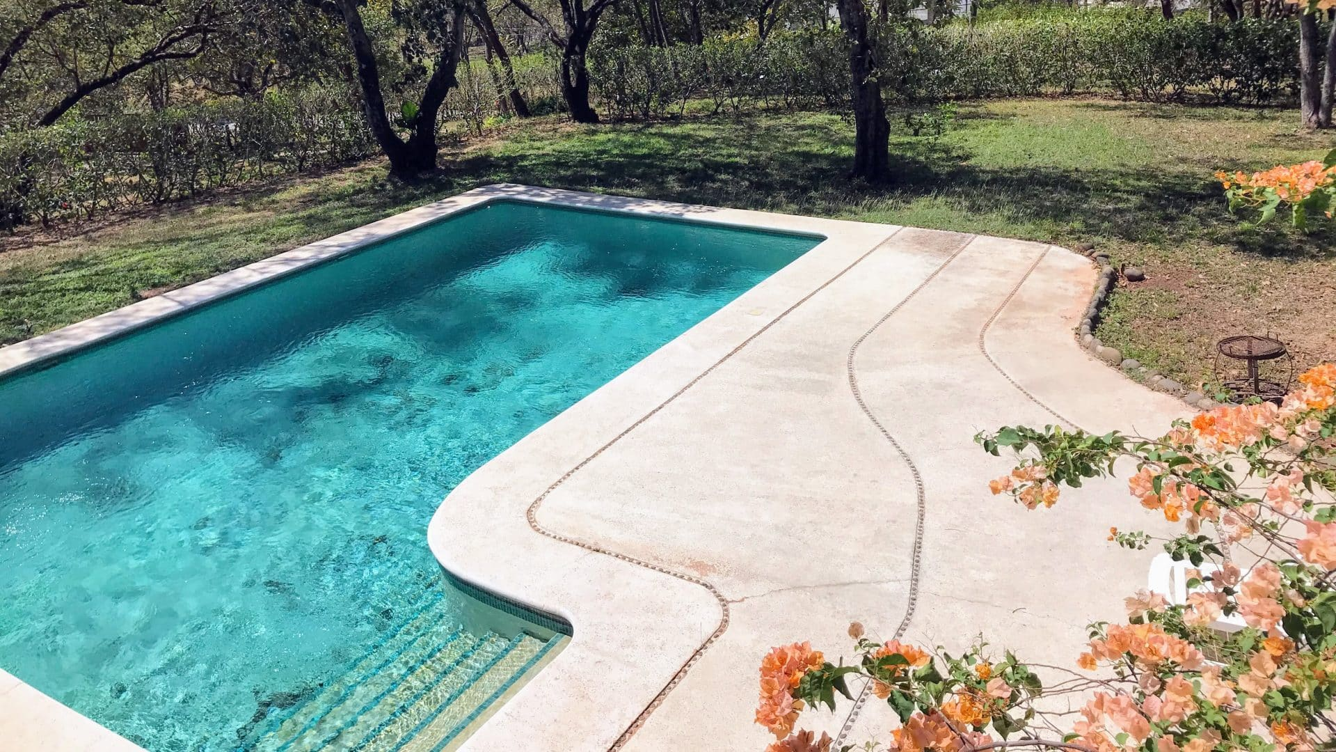 Beautiful Family House on large land with Pool close to Tamarindo. Now Reduced Price!