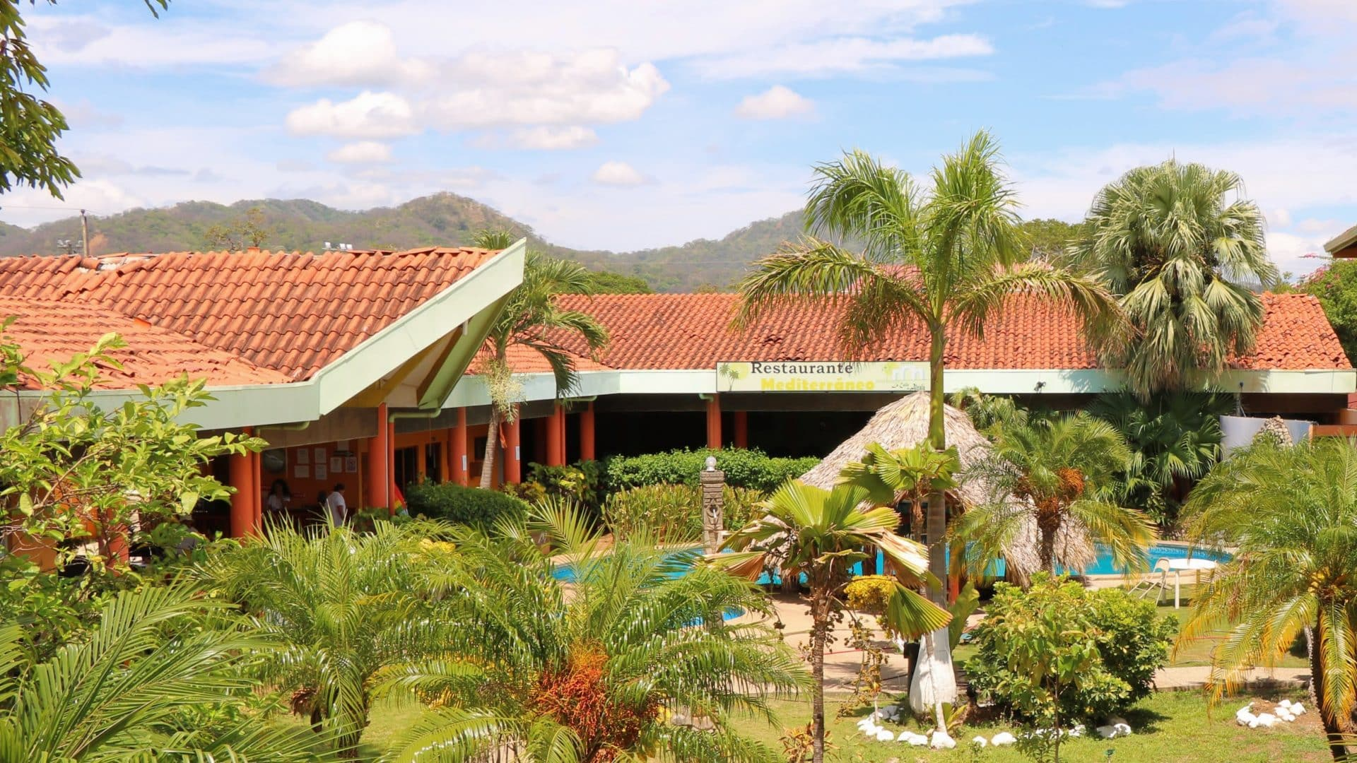 The only one Hotel in Santa Cruz, Guanacaste: 28 Rooms