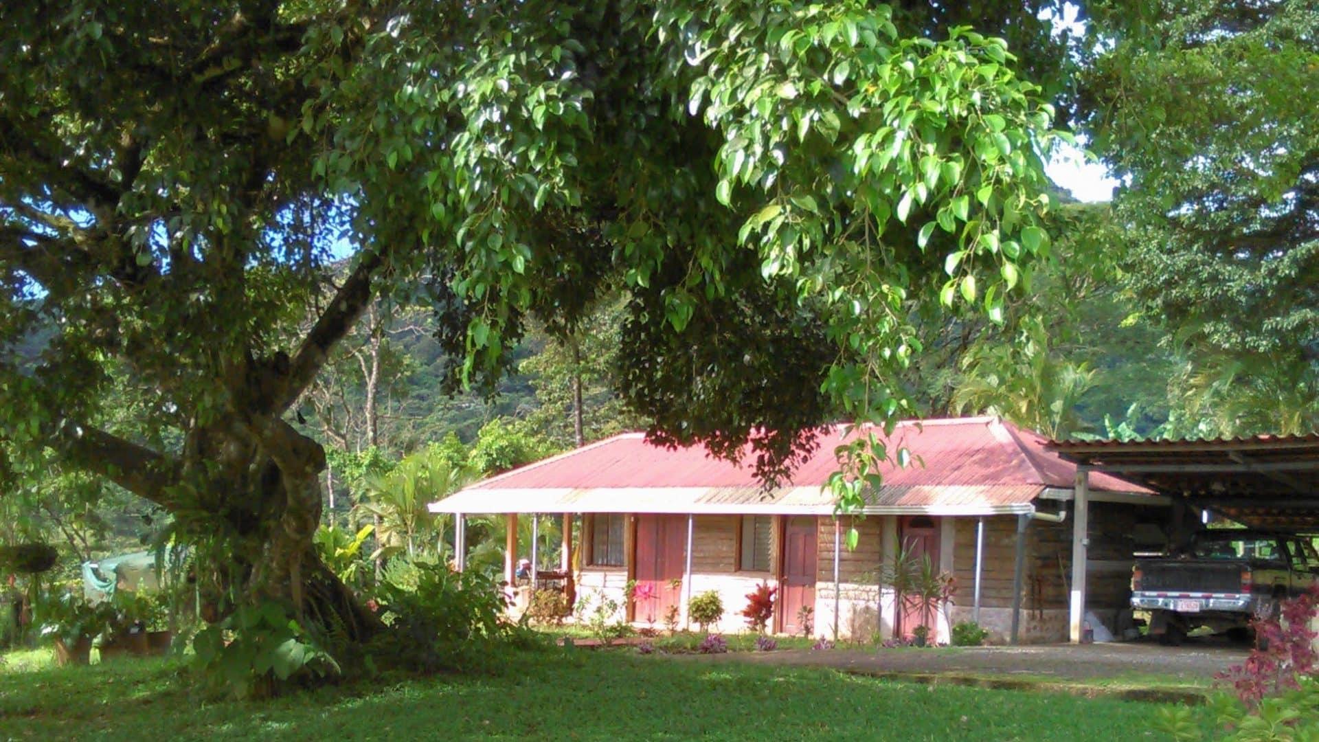 Three houses and Yoga/Meditation Room with breathtaking view on Volcano Tenorio