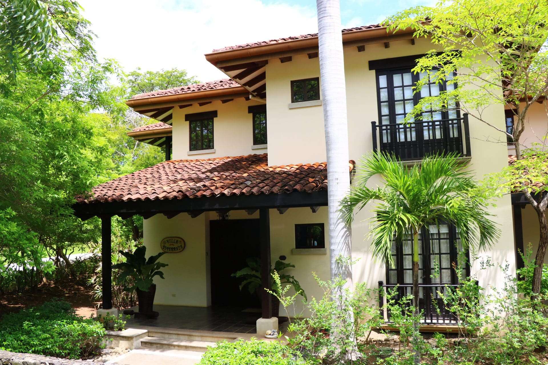 Colonial Luxury House with Ocean View in Hacienda Pinilla Gated Community